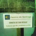 Señalización del Camino de Santiago